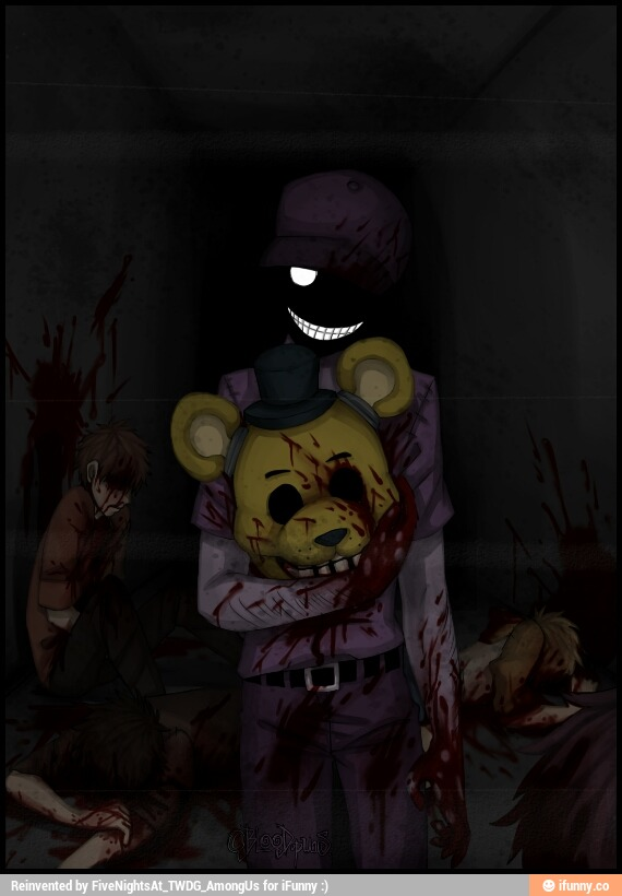 Purple Guy Vincent Five Nights At Freddys Pro фото