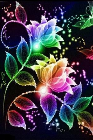 upinde wa mvua Flowers