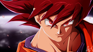 Red Rose Sayian Goku Dragon Ball Z