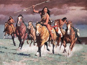 Red Sky Warriors by David Mann