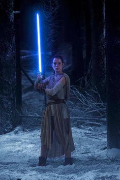 Rey,Star Wars : The Force Awakens