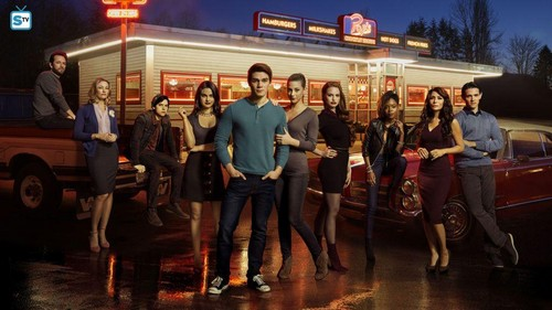 Riverdale (2017 TV series) achtergrond titled Riverdale Cast
