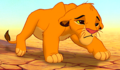 Sad Simba  - the-lion-king photo