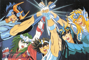 Saint Seiya maxi Cards