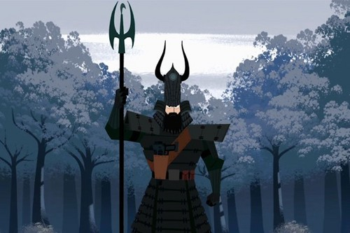 Childhood Animated Movie Heroes wallpaper called Samurai Jack~ Season Five