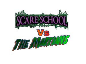 Scare School vs. The Martians (Logo)