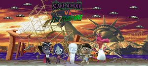 Scare School vs. The Martians