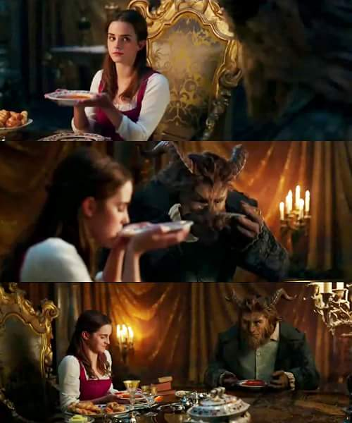 Scenes from Beauty and the Beast