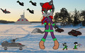 Scylla Bradanksa at Outpost Aurora - sonic-girl-fan-characters photo