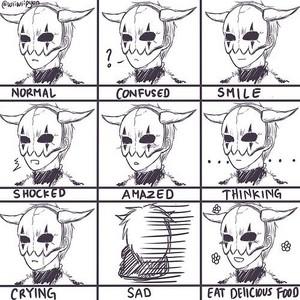 Shin-ah's expressions