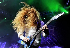 Slayer Megadeth Anthrax Perform Gibson Amphith