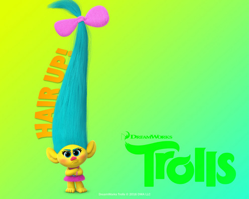 DreamWorks Trolls Hintergrund entitled Smidge