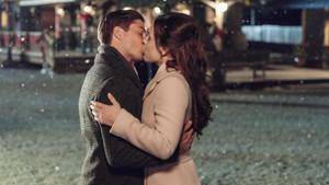 Snowy kiss