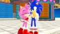 Sonic and Amy MMD Station Square Main - sonic-and-amy photo