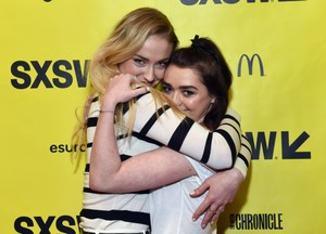 Sophie Turner and Maisie Williams at SXSW 2017