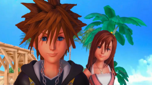 are sora and kairi dating