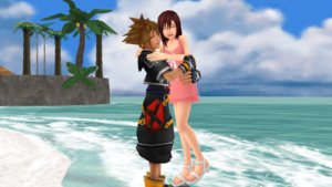 Sora and Kairi True प्यार and Happiness Sky and Sea Part 1