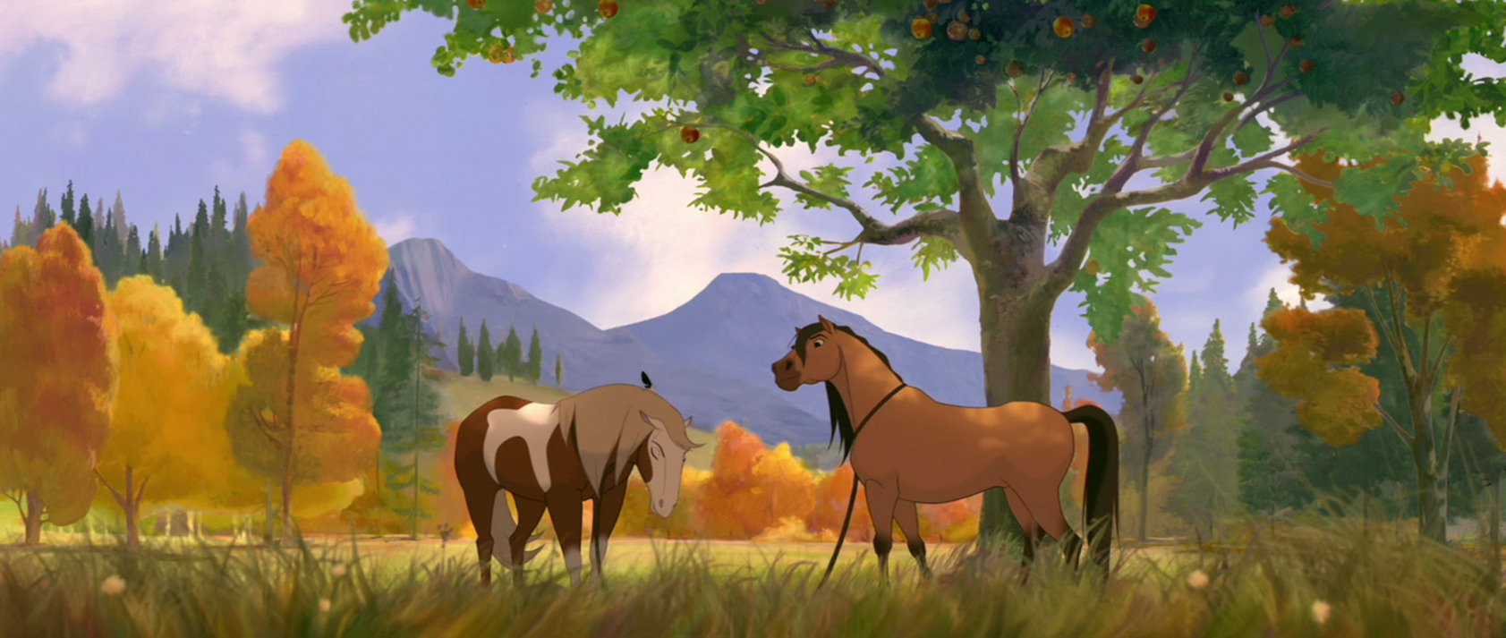spirit In a small western town, spunky ex-city girl lucky forms a tight bond with wild horse spirit while having adventures with best pals pru and abigail watch trailers.