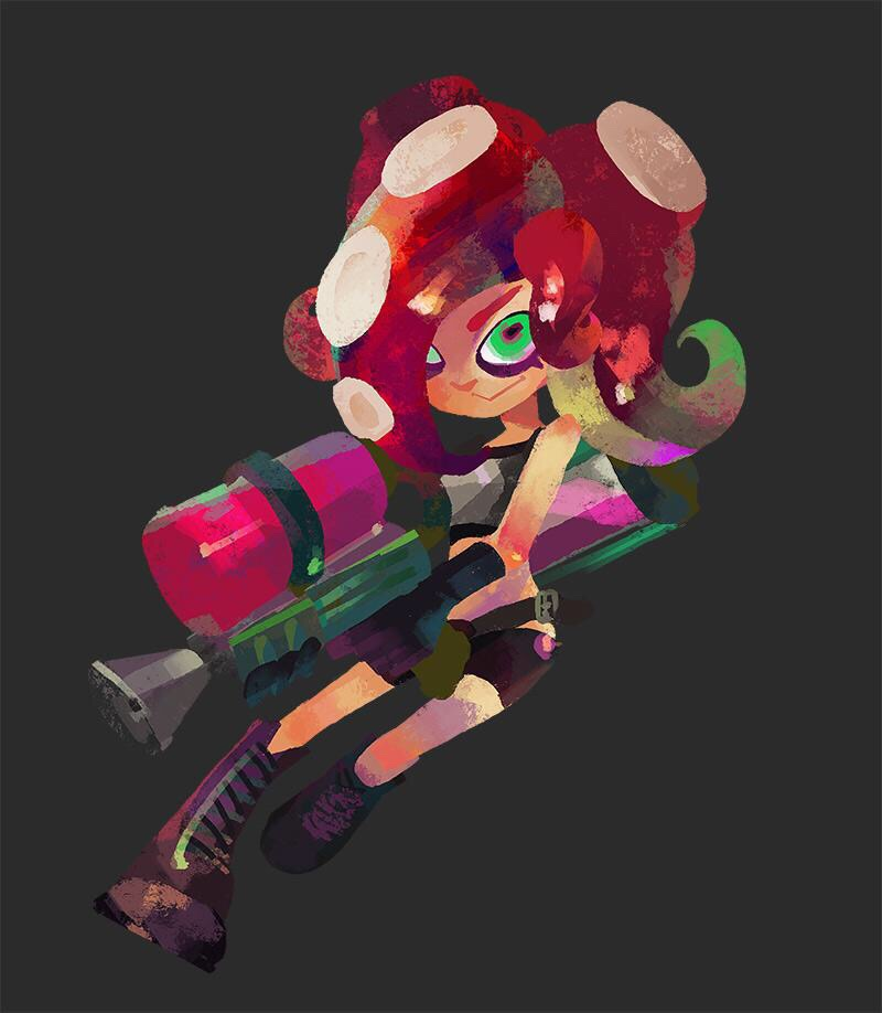 Splatoon Images Splatoon Official Artwork Hd Wallpaper And