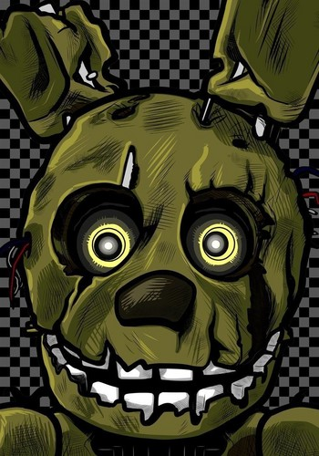 Five Nights At Freddy's hình nền titled Springtrap