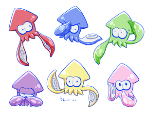 Squid expressions