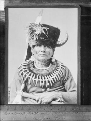 Standing menanggung, bear 1881 (Ponca)