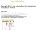 StarryWind2014's Description - deviantart photo