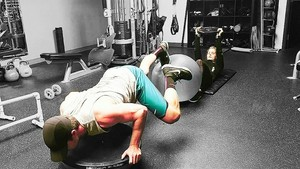 Stemily working out