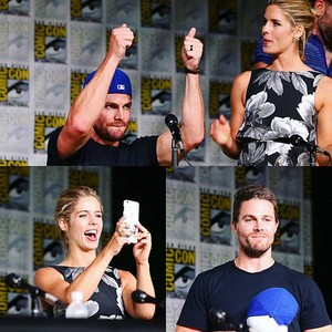 Stephen and Emily @ SDCC 2016