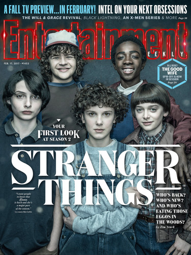 Stranger Things 壁紙 entitled Stranger Things - Entertainment Weekly Cover - February 17, 2017