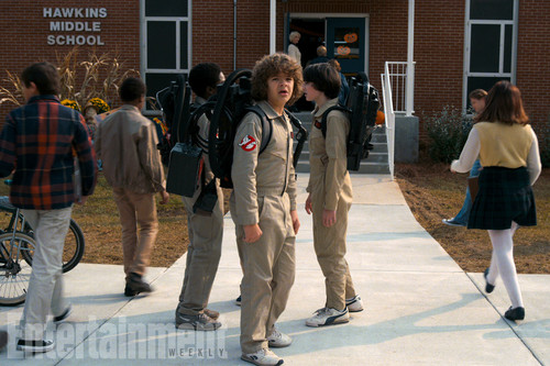 Stranger Things achtergrond called Stranger Things Season 2 First Look