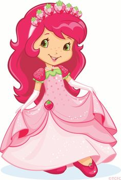 Strawberry Shortcake (Princess Clipart)