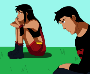 Supergirl and Superboy