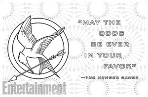 THE HUNGER GAMES - Coloring book