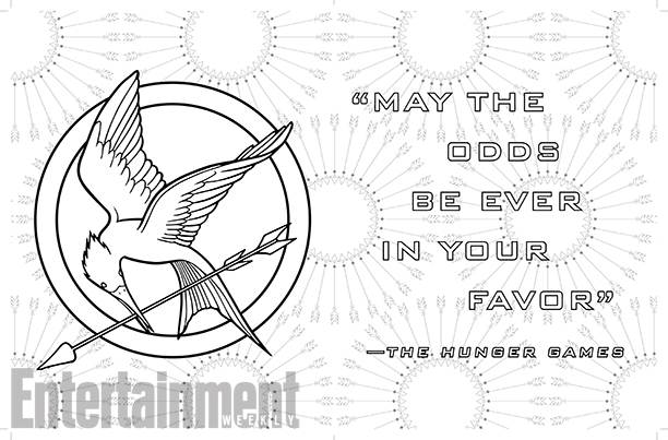 Hunger Games images THE HUNGER GAMES - Coloring book fond d\'écran ...