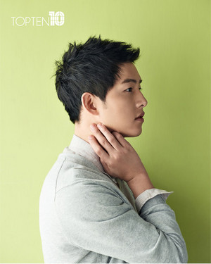 "TOP10 RELEASES 4 NEW hình ảnh OF ""WANNABEBOYFRIEND"" SONG JOONG KI"
