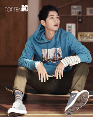 "TOP10 RELEASES 4 NEW images OF ""WANNABEBOYFRIEND"" SONG JOONG KI"