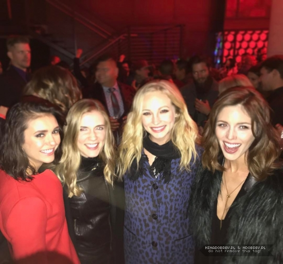 The Vampire Diaries Tv Show Images Tvd Season 8 Wrap Up Party