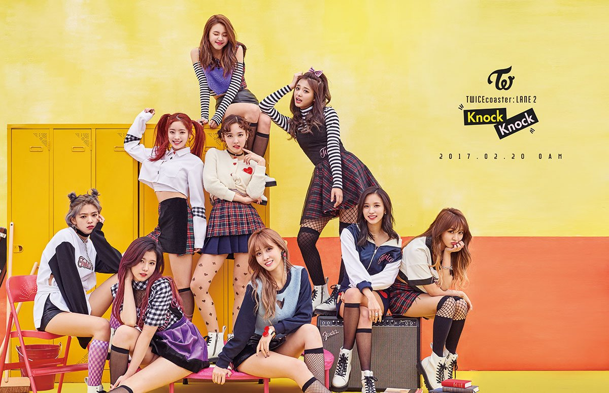 "TWICE Group Teaser for ""Knock Knock"""