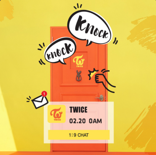 Twice (JYP Ent) پیپر وال called TWICE get ready for their comeback with 'Knock Knock'