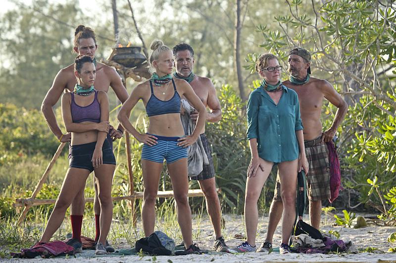 Ta Keo Tribe Post Swap Cambodia Sekunde Chance Survivor Foto