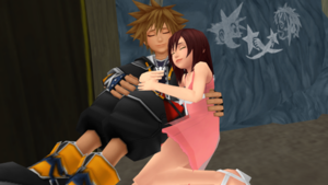 Thank あなた Sora and Kairi for Everything MMD