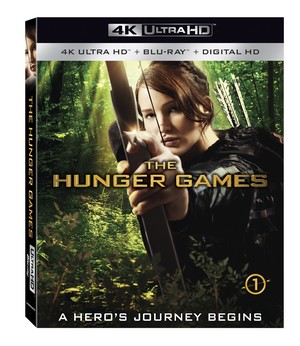 The Hunger Games 4K cover