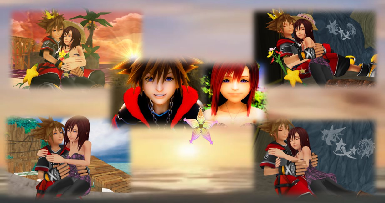 The Last One Sky  Sea  and Destiny Sora and Kairi.