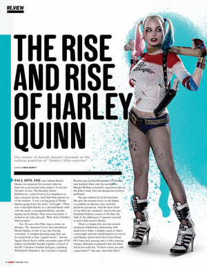 The Rise and Rise of Harley Quinn - Empire Magazine - February 2017 [1]