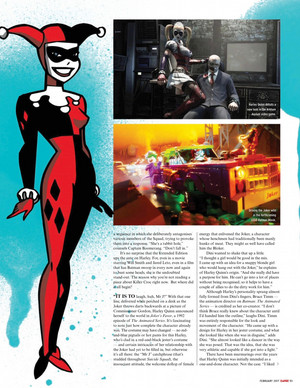 The Rise and Rise of Harley Quinn - Empire Magazine - February 2017 [2]