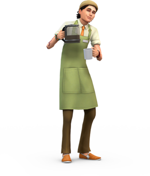 The Sims 4: Get to Work Render