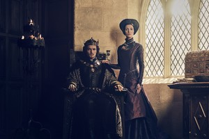 The White Princess Henry VII and Margaret Beaufort Official Picture