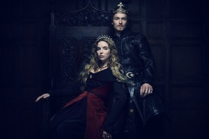 The White Princess Henry VII and Princess Elizabeth Official Picture