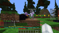 TheCyborg582 placing end crystal troll - minecraft photo